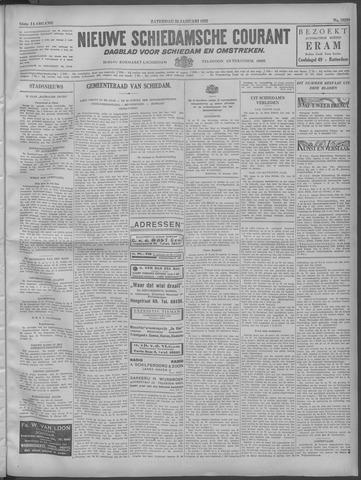 Nieuwe Schiedamsche Courant 1932-01-23
