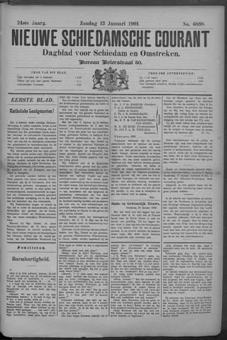 Nieuwe Schiedamsche Courant 1901-01-13
