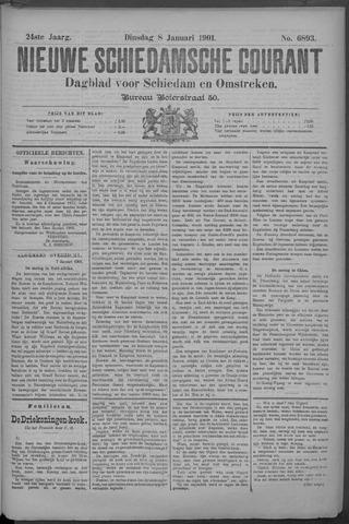 Nieuwe Schiedamsche Courant 1901-01-08