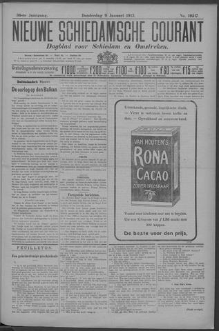 Nieuwe Schiedamsche Courant 1913-01-09