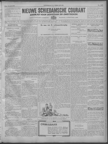 Nieuwe Schiedamsche Courant 1932-02-25