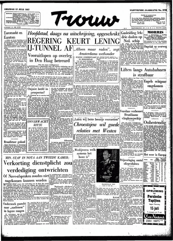 Trouw / De Rotterdammer 1957-07-12