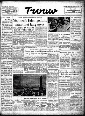Trouw / De Rotterdammer 1954-05-25