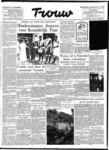 Trouw / De Rotterdammer 1955-11-05