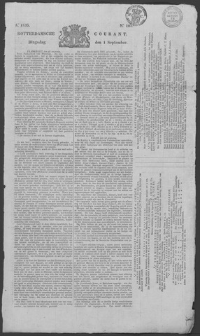 Rotterdamse Courant 1835-09-01