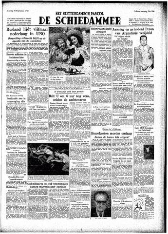 Rotterdamsch Parool / De Schiedammer 1948-09-25