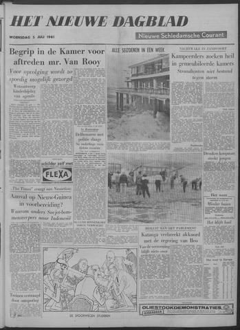 Nieuwe Schiedamsche Courant 1961-07-05
