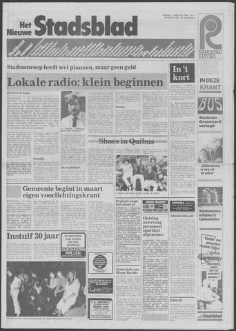 Het Nieuwe Stadsblad 1985-02-01