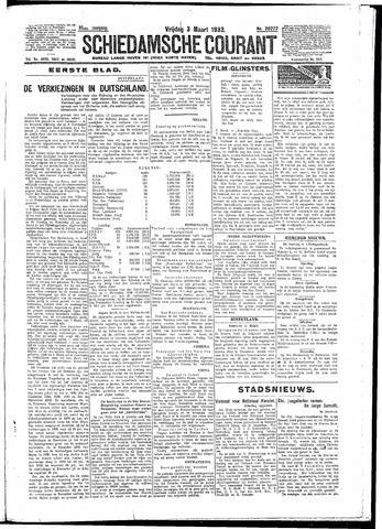 Schiedamsche Courant 1933-03-03