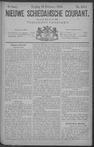 Nieuwe Schiedamsche Courant 1886-02-26