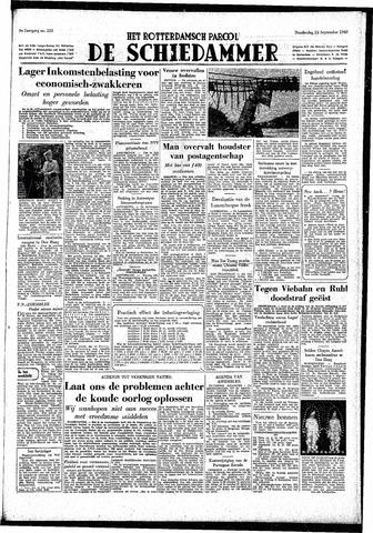 Rotterdamsch Parool / De Schiedammer 1949-09-22