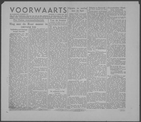 Voorwaarts 1945-02-27