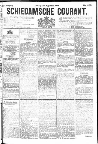 Schiedamsche Courant 1908-08-28