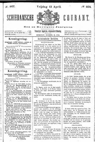 Schiedamsche Courant 1877-04-13