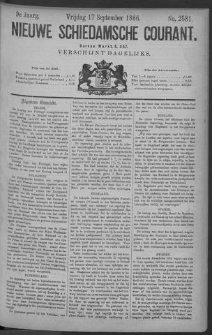Nieuwe Schiedamsche Courant 1886-09-17
