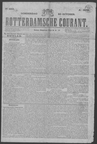 Rotterdamse Courant 1859-10-20