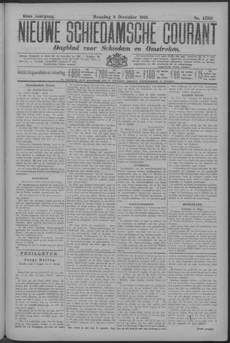 Nieuwe Schiedamsche Courant 1918-12-09