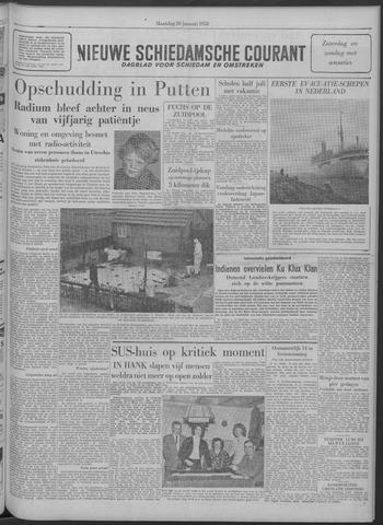 Nieuwe Schiedamsche Courant 1958-01-20