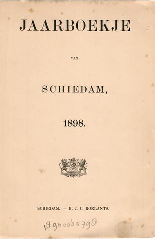 Schiedams Jaarboek 1898-01-01