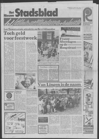 Het Nieuwe Stadsblad 1985-04-24