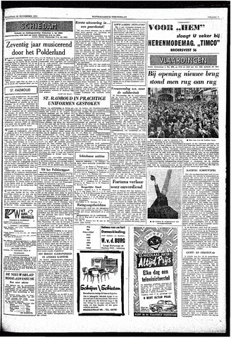 Rotterdamsch Nieuwsblad / Schiedamsche Courant / Rotterdams Dagblad / Waterweg / Algemeen Dagblad 1959-11-30
