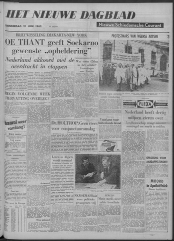 Nieuwe Schiedamsche Courant 1962-06-21
