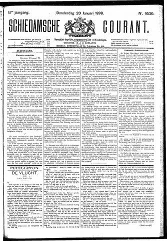 Schiedamsche Courant 1898-01-20