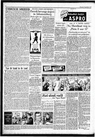 Rotterdamsch Parool / De Schiedammer 1957-09-17