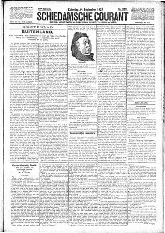 Schiedamsche Courant 1927-09-24