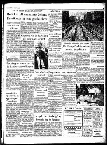 Rotterdamsch Parool / De Schiedammer 1962-08-16