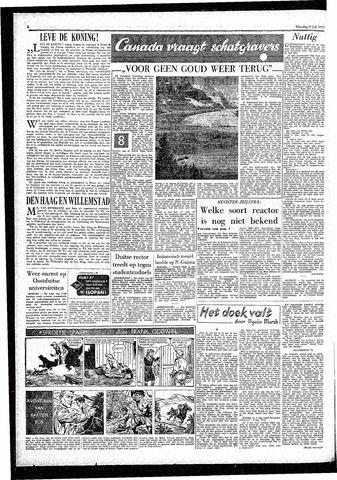 Rotterdamsch Parool / De Schiedammer 1957-07-09