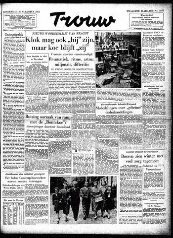 Trouw / De Rotterdammer 1954-08-26