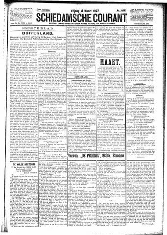 Schiedamsche Courant 1927-03-11