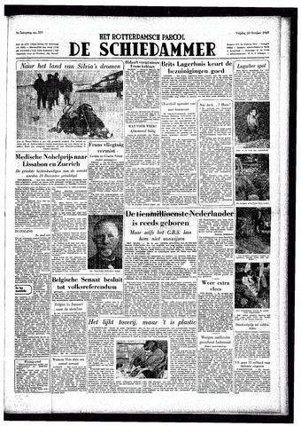 Rotterdamsch Parool / De Schiedammer 1949-10-28