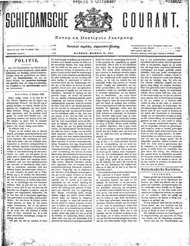 Schiedamsche Courant 1883-10-05