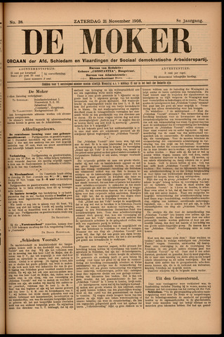 De Moker 1908-11-21