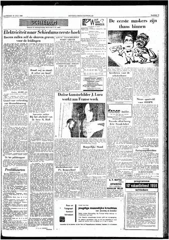 Rotterdamsch Nieuwsblad / Schiedamsche Courant / Rotterdams Dagblad / Waterweg / Algemeen Dagblad 1959-07-18