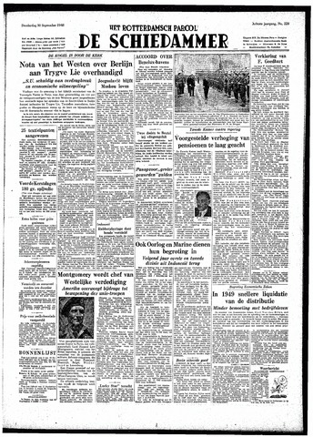 Rotterdamsch Parool / De Schiedammer 1948-09-30