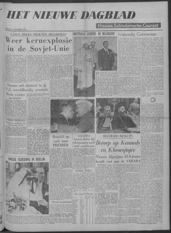 Nieuwe Schiedamsche Courant 1961-09-05