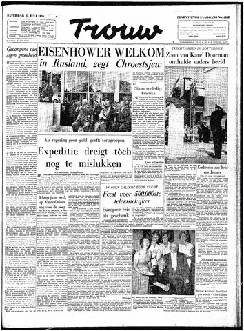 Trouw / De Rotterdammer 1959-07-25