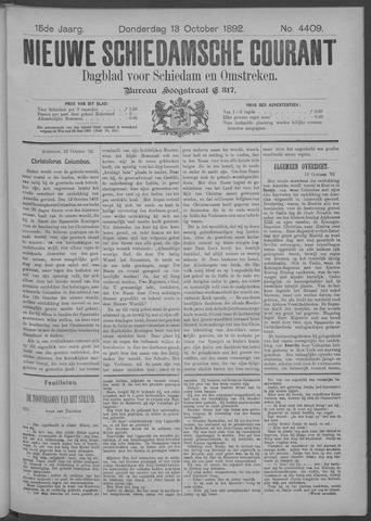 Nieuwe Schiedamsche Courant 1892-10-13
