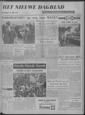 Nieuwe Schiedamsche Courant 1961-05-29
