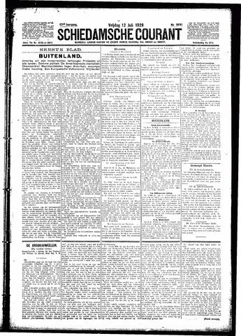 Schiedamsche Courant 1929-07-12