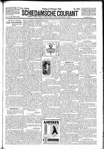 Schiedamsche Courant 1931-02-06