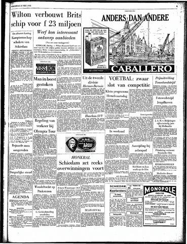 Rotterdamsch Parool / De Schiedammer 1963-05-22