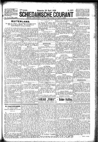 Schiedamsche Courant 1929-04-24