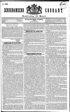 Schiedamsche Courant 1866-03-15