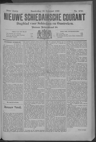 Nieuwe Schiedamsche Courant 1897-02-25