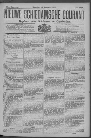 Nieuwe Schiedamsche Courant 1909-08-23