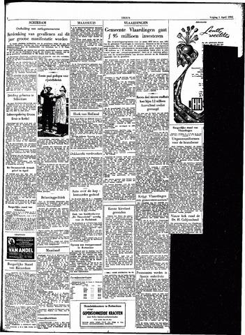 Trouw / De Rotterdammer 1955-04-01